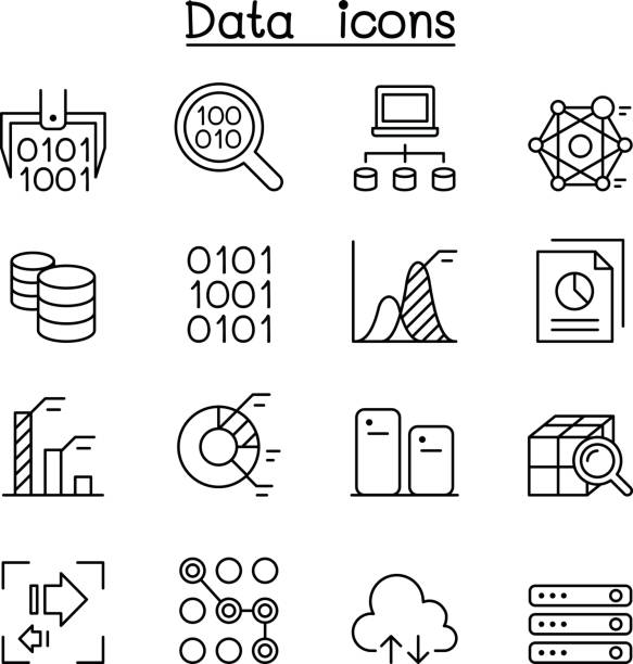 Royalty Free Bits And Bytes Clip Art, Vector Images