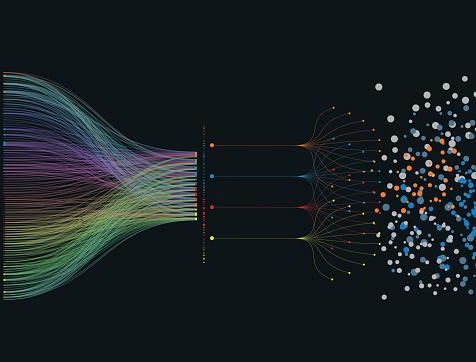 data pattern background