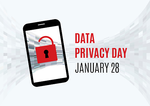 Data Privacy Day vector