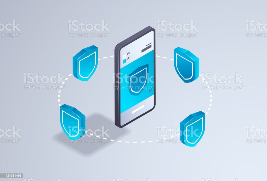 Data Privacy Protection Mobile Application Internet Security