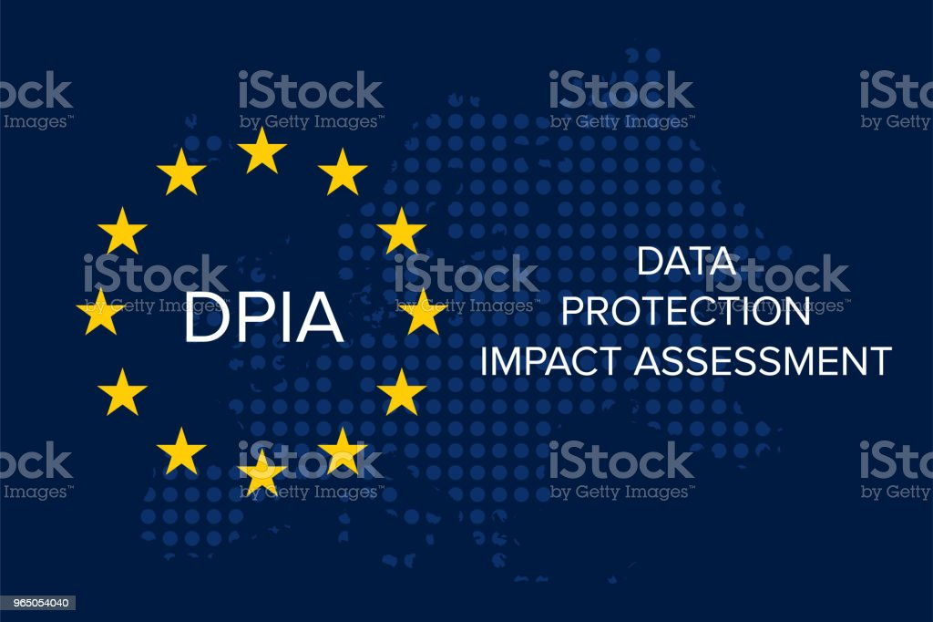 Data Protection Impact Assessment (DPIA) data protection impact assessment - stockowe grafiki wektorowe i więcej obrazów belgia royalty-free