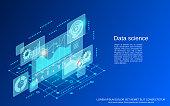 istock Data science vector concept 1269967893