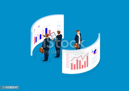 Data statistics and analysis, financial management, data visualization