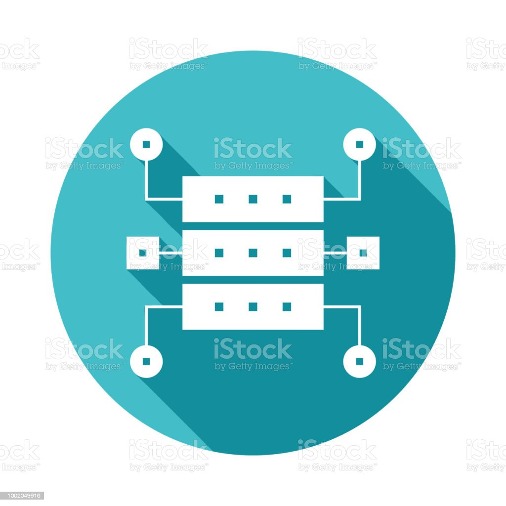 data structure icon in flat long shadow style stock illustration download image now istock data structure icon in flat long shadow style stock illustration download image now istock