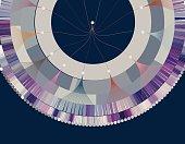 data visualization pattern background