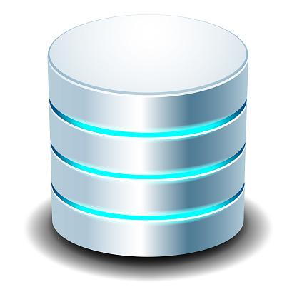 Database Icon Illustration