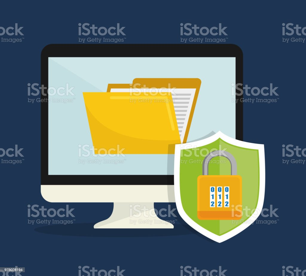 Database Security System Stock Vector Art More Images Of Badge And Royalty Free Amp