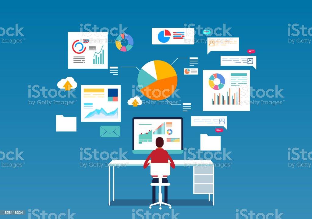 Datenbank – Vektorgrafik