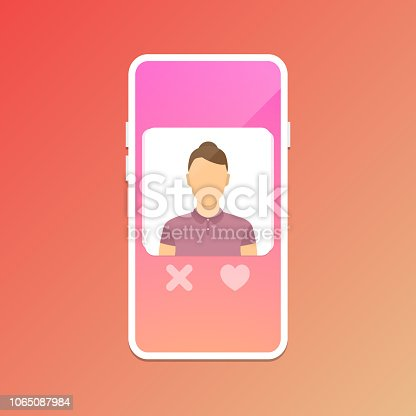istock Dating application concept 1065087984
