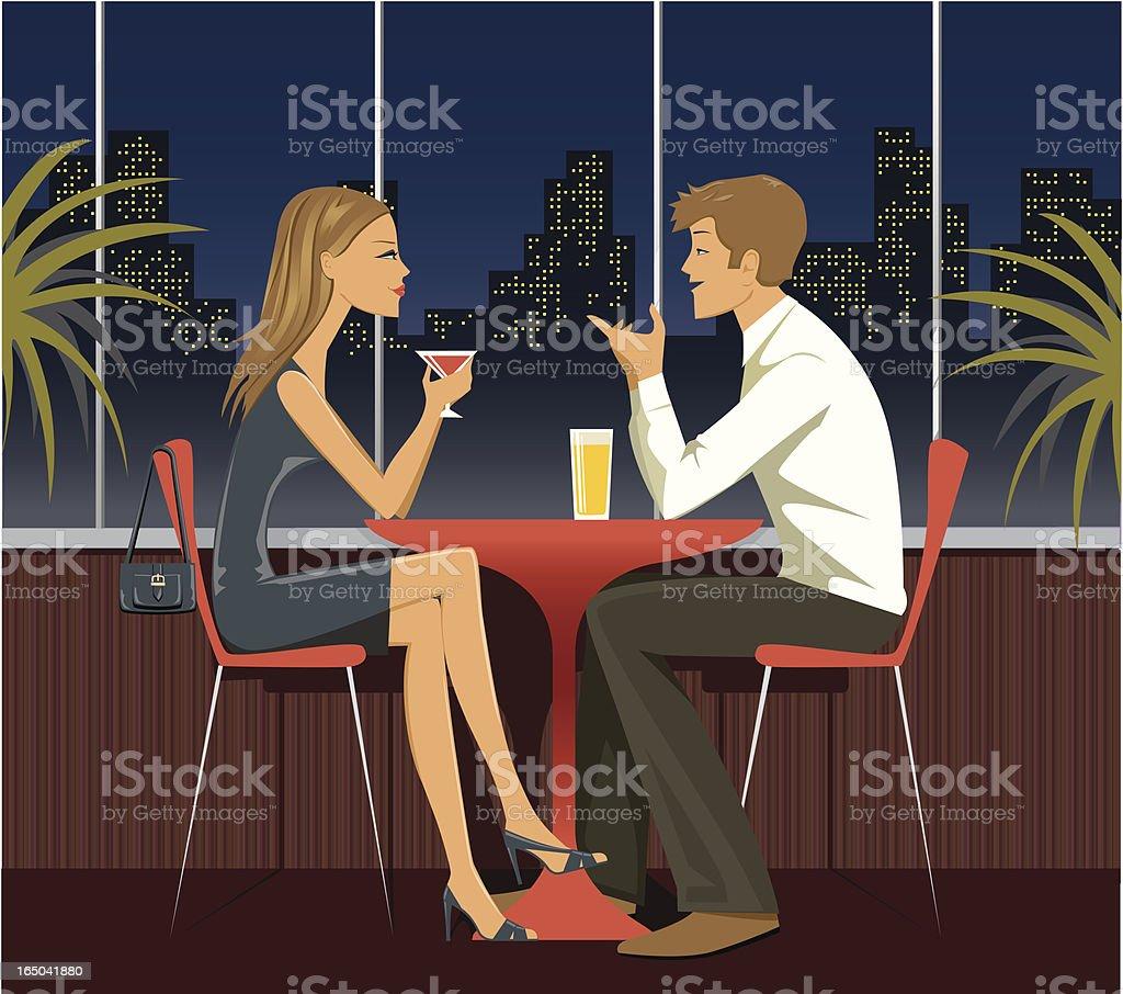 Dating - series vector art illustration