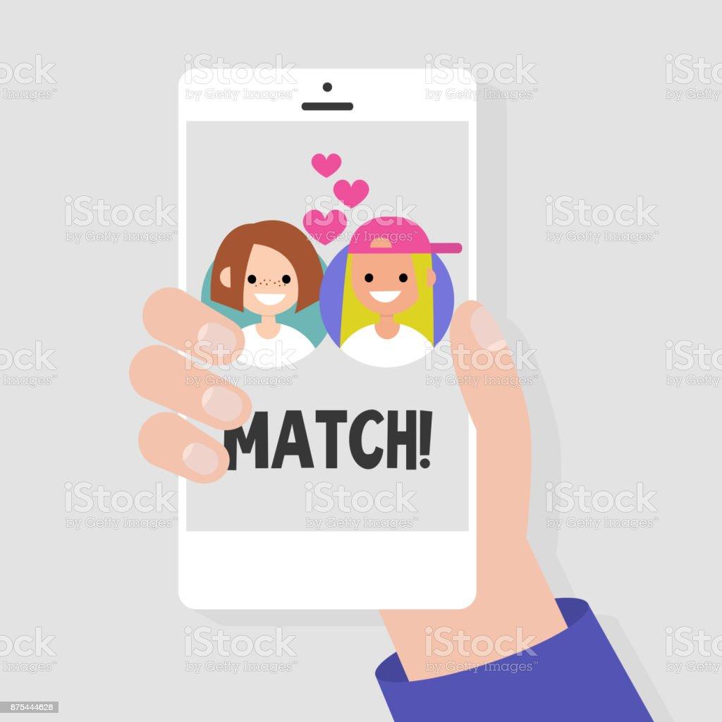 mobila dating applikationer