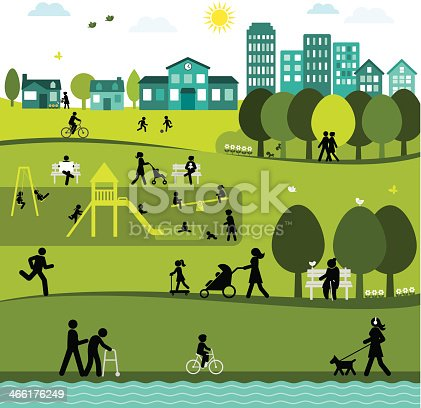 Day at a City Park