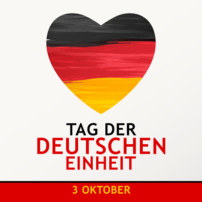 Day of German Unity Heart
