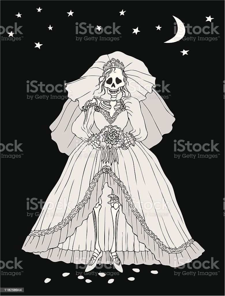 Skeleton Bride Dress