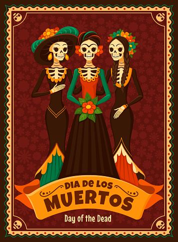 Day of the Dead card.