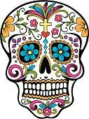 istock Day of the Dead celebration Sugar Skull 165600529