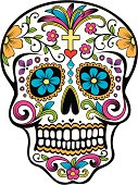 istock Day of the Dead celebration Sugar Skull 165600529