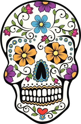 Day of the Dead celebration Sugar Skull