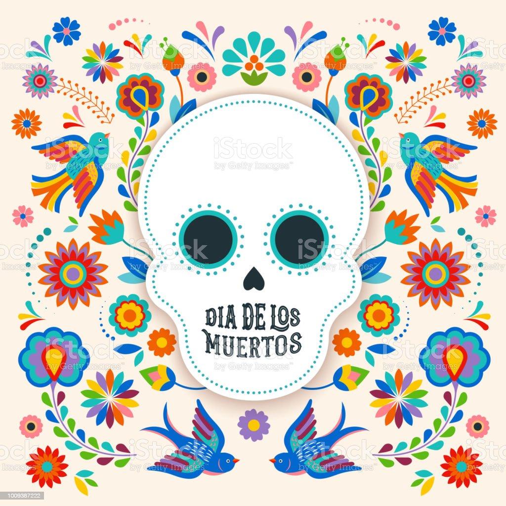 Ilustración de Día De Muertos Dia De Los Moertos Banner Con ...