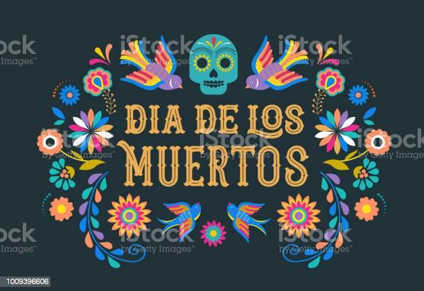 Day of the dead dia de los moertos banner with colorful mexican vector id1009396606?b=1&k=6&m=1009396606&s=612x612&h=ufs7sa4j3e7ro3jmir6 rh2tiu2toussjnrhfhhwmrm=