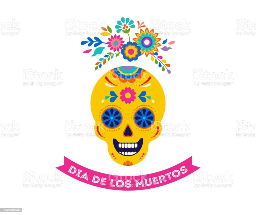 Ilustración de Día De Muertos Dia De Los Muertos Fondo Banner Y ...