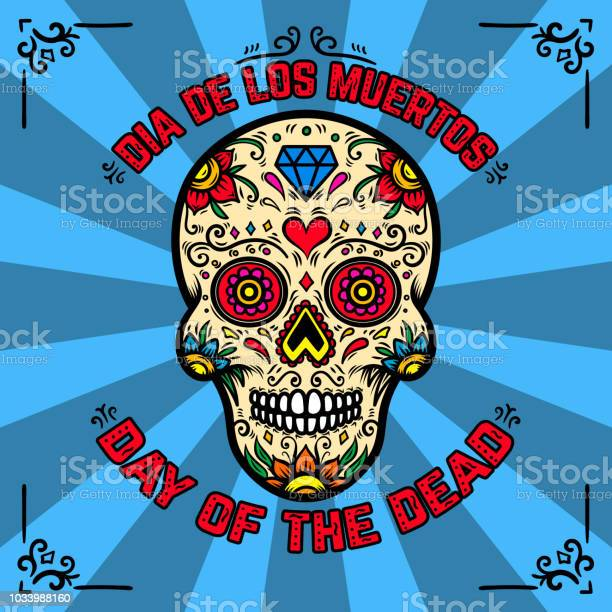 Day of the dead dia de los muertos banner template with mexican sugar vector id1033988160?b=1&k=6&m=1033988160&s=612x612&h=eazhzs3f1lxmhtpmuqnlgbnbljzwvwvormcgysjbv5k=