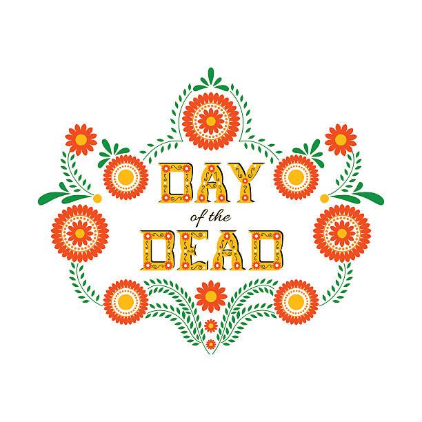 bildbanksillustrationer, clip art samt tecknat material och ikoner med day of the dead vector illustration poster - latino music