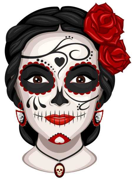 Best Mexican Woman Illustrations, Royalty-Free Vector ...