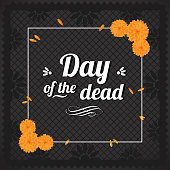 Beautiful Day Of The Death composition, ideal to create your own!