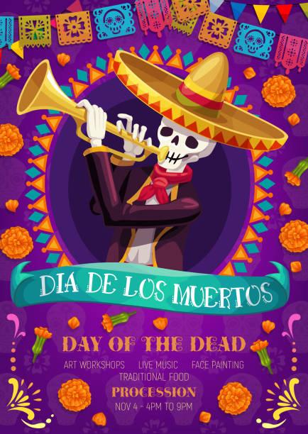 bildbanksillustrationer, clip art samt tecknat material och ikoner med dag av den mexicanska ferie berömmen - tradition