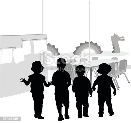 istock Daycare Playtime 670534954