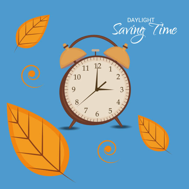 Daylight Saving Time(Spring Forward). Vector illustration of a Background for Daylight Saving Time(Spring Forward). daylight savings stock illustrations