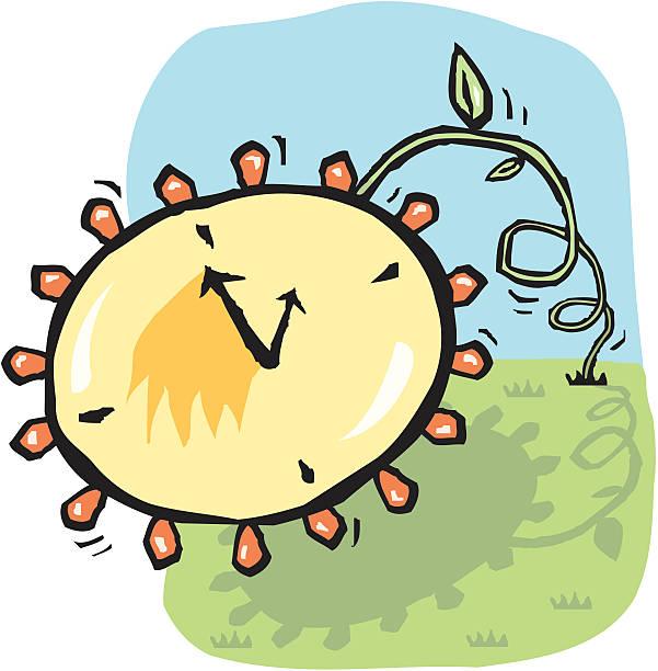 daylight savings time, spring forward - spring forward stock illustrations, clip art, cartoons, & icons
