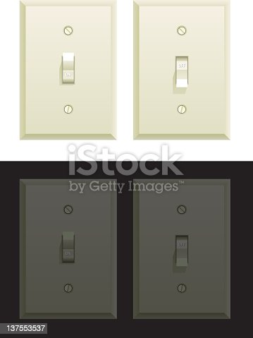 istock Daytime and Nighttime Light Switch 137553537