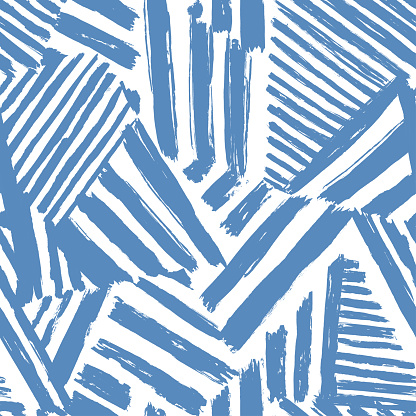 Dazzle camouflage seamless abstract pattern