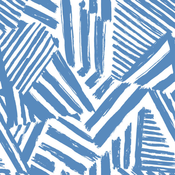 Dazzle camouflage seamless abstract pattern Dazzle camouflage seamless abstract pattern drawn by brush graffiti background stock illustrations
