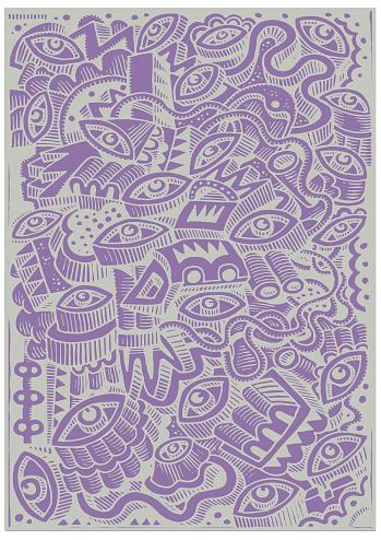 Dazzle doodle illustration