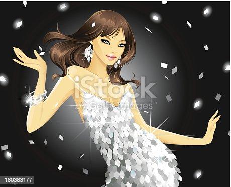istock Dazzling Disco (Platinum) 160383177