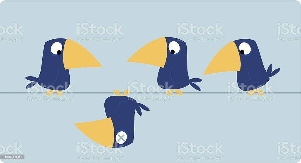 dead bird royalty-free dead bird stock vector art & more images of animal