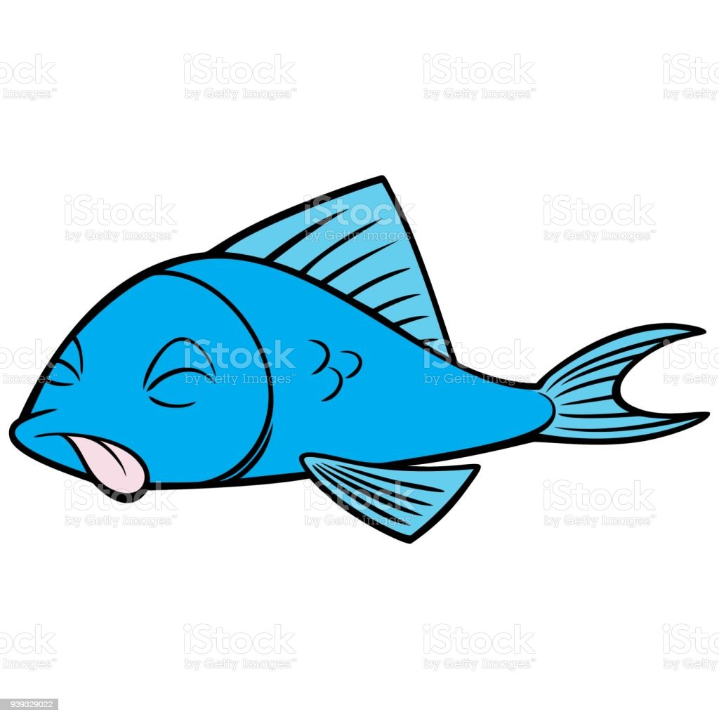 royalty free dead fish pollution clip art vector images rh istockphoto com Club Penguin Fish Club Penguin Fish