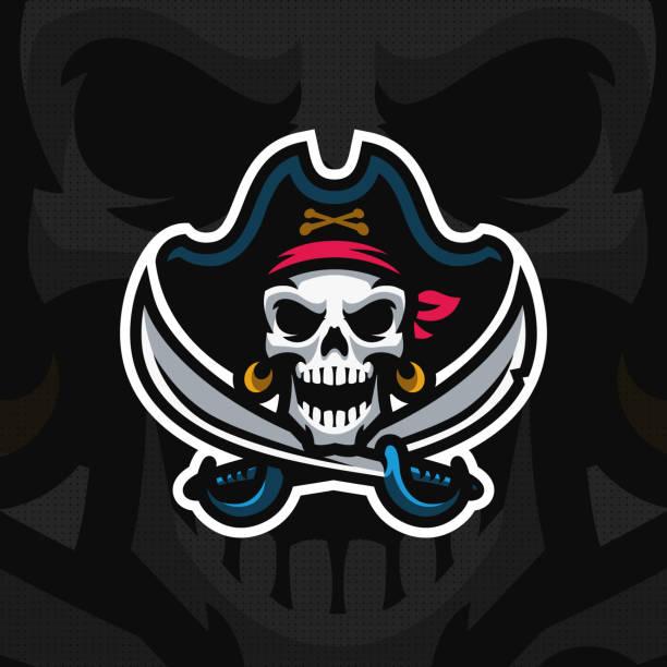 """dead pirate"" mascot . - pirates stock illustrations, clip art, cartoons, & icons"