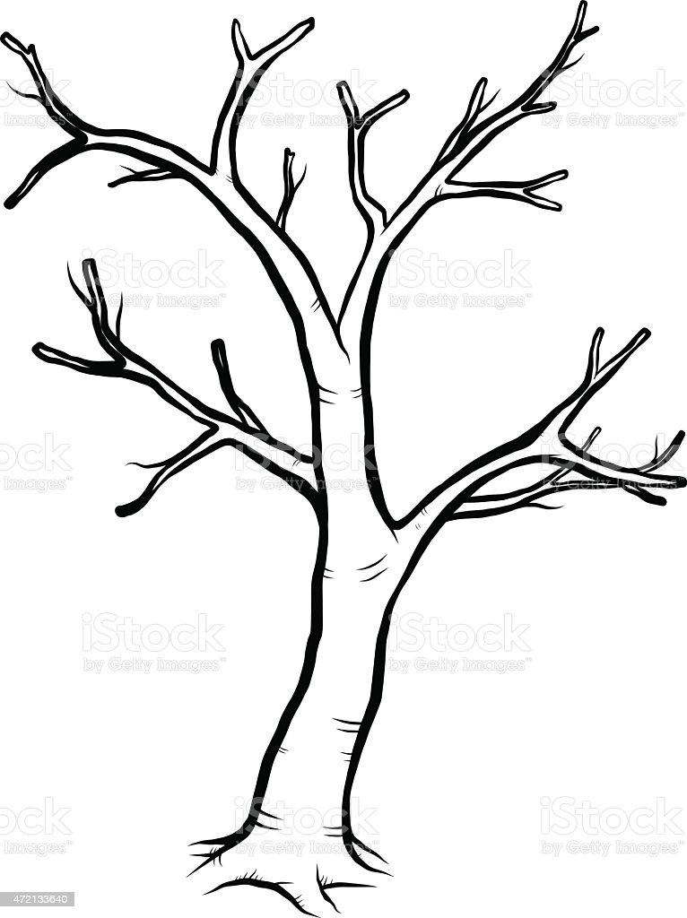 Dead Tree Stock Illustration Download Image Now Istock After you have given your dead tree plenty of branches, it is time to move on to the smaller details of the tree, like the. https www istockphoto com vector dead tree gm472133640 61850394
