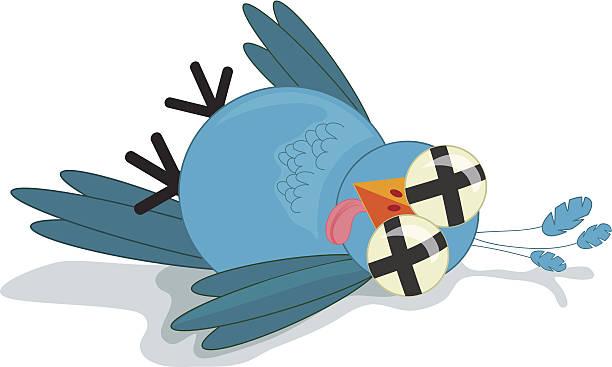 dead twitter bird - twitter 幅插畫檔、美工圖案、卡通及圖標
