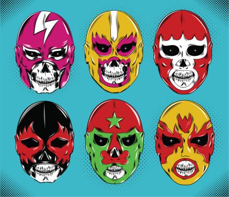 dead wrestler masks