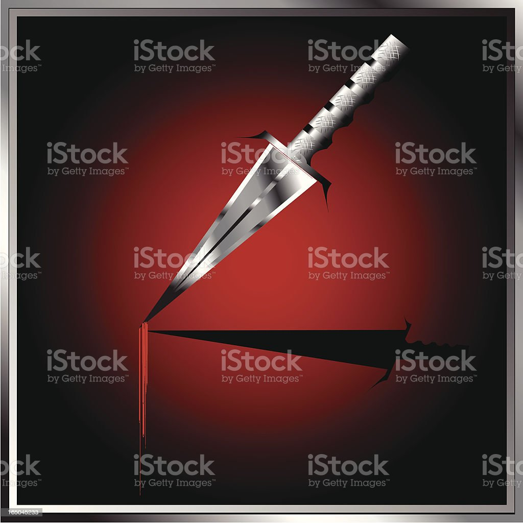 Deadly Weapon royalty-free stock vector art