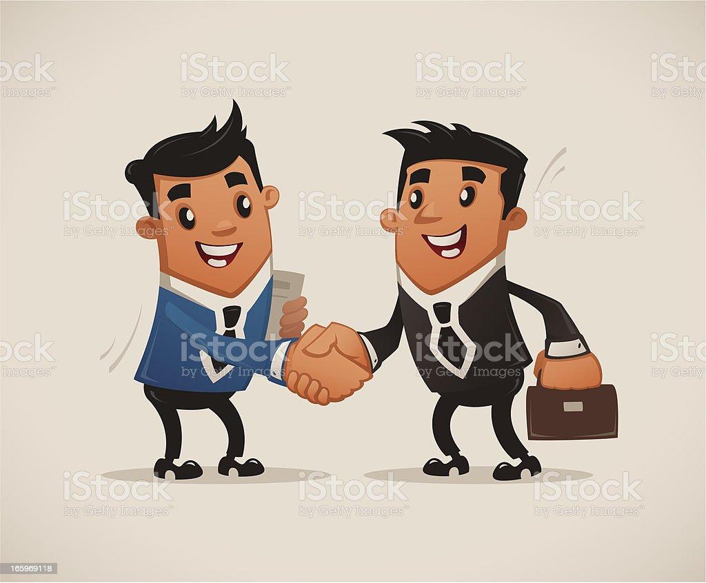Deal royalty-free stock vector art