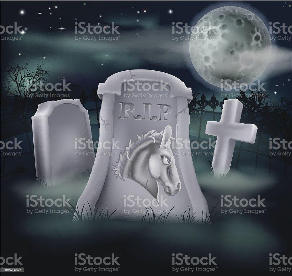 Death of Democrat Party Concept royalty-free stock vector art
