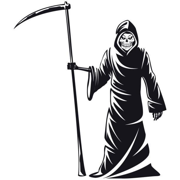 best grim reaper illustrations royaltyfree vector