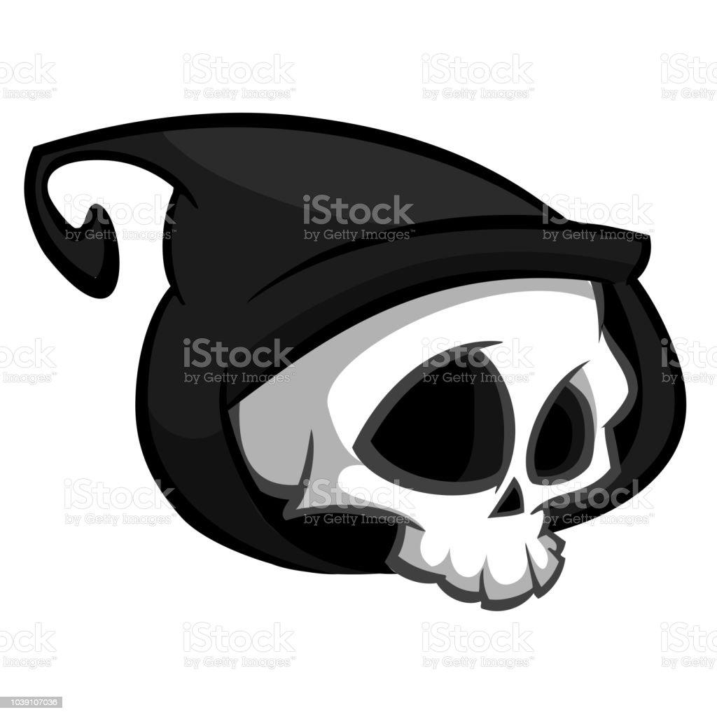 Caractere Squelette De Mort Pour Halloween Logo Religion Et Tatouage