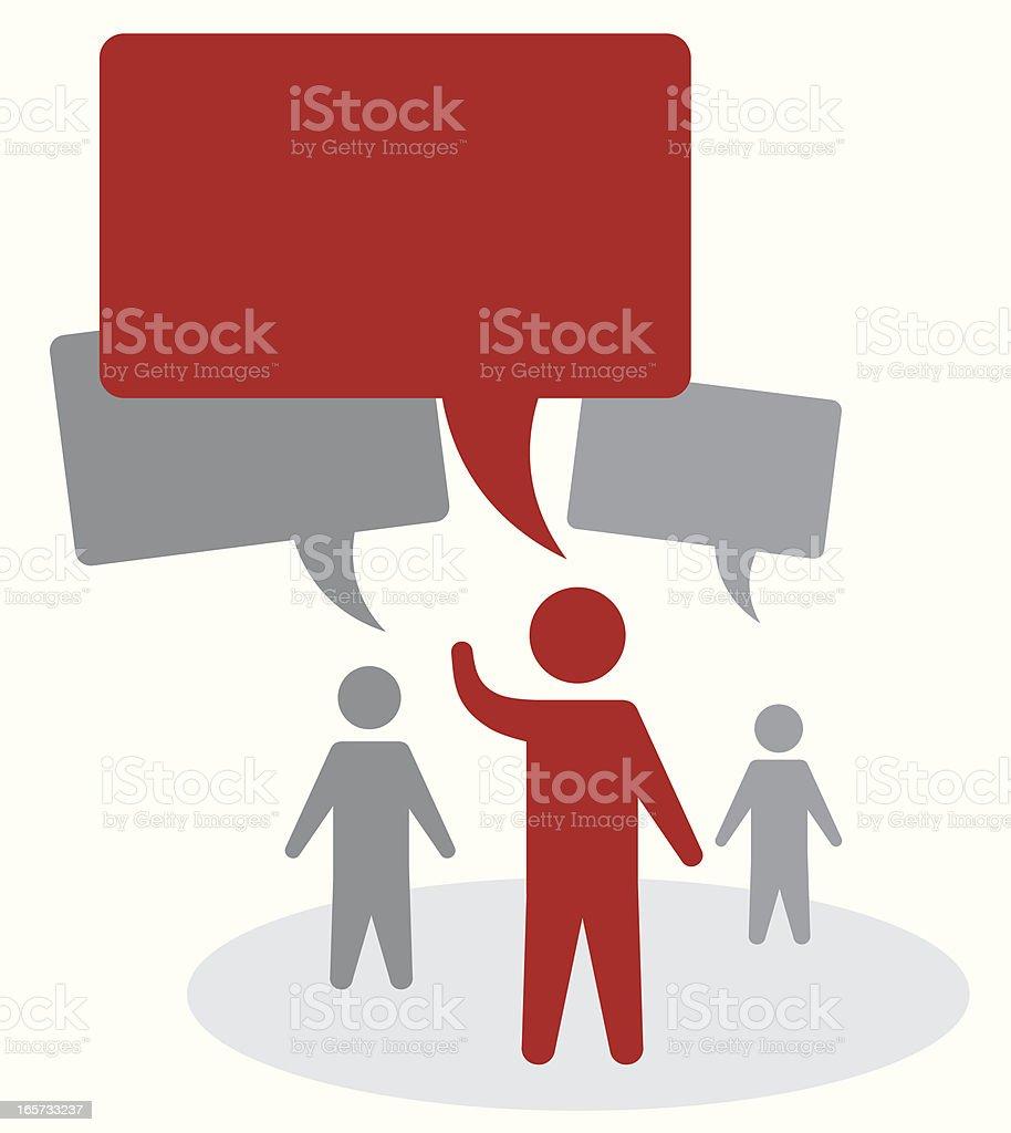 Debating royalty-free debating stock vector art & more images of communication